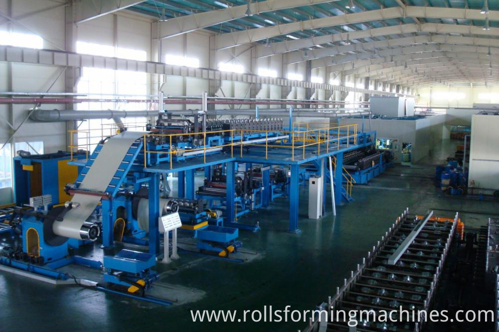Composite board production line