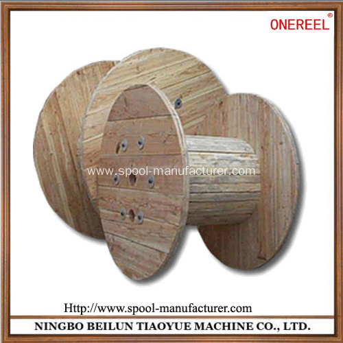 industrial large wooden cable spool for sale