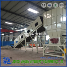 Refrigerator shredding machine for recycling
