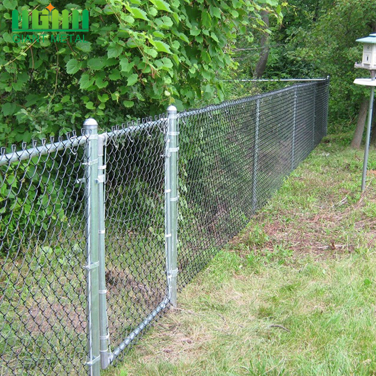 High Quality Galvanized Used Chain Link Fence