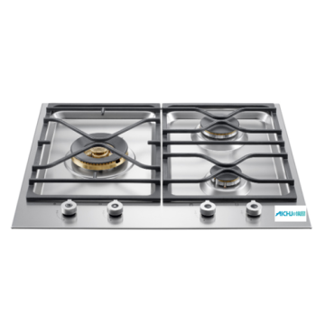 Gas Countertop Stove 3 Burner