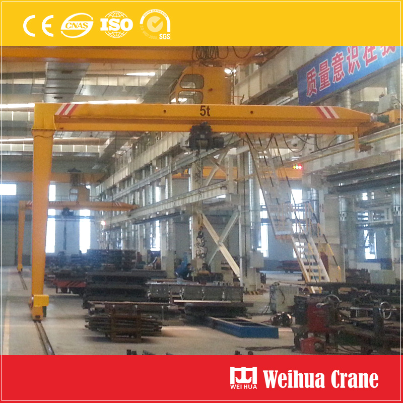 Single Girder Semi Gantry Cranes