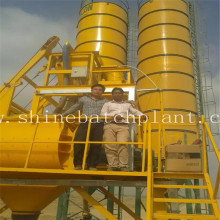 Reliable for 50 Concrete Batch Machinery 50 Ready Fixed Concrete Batching Plants supply to Niger Factory