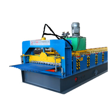galvanized roofing barrel corrugated machine