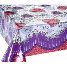 Quality for Double Face Printed Tablecloth Double Face Emboss printed Gold Silver Tablecloth Patterns export to Armenia Manufacturers