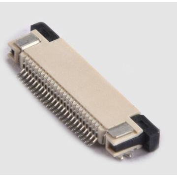 FFC Connector 0.8mm SMD Horizontal ZIF Bottom Contact