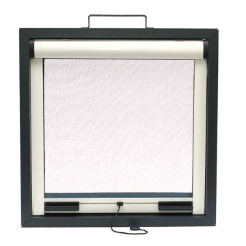 Retractable window with aluminum frame 3401