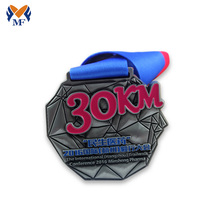 Good Quality for Custom Running Medals Custom fun run race metal medals supply to Pitcairn Suppliers