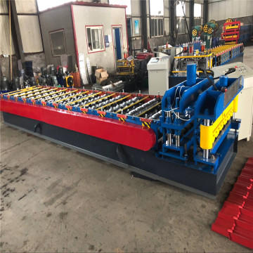 Glazed Tile Roof Sheet Rolling Forming Machine