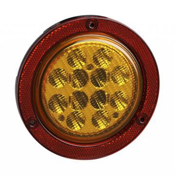 Emark 4 Inch Truck Turn Reflector Lamps