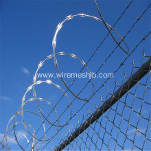 BTO-22 Galvanized Concertina Razor Wire For Airport