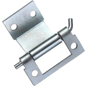 Factory made hot-sale for Concealed Door Hinges Industrial Blue-White Zinc-coated Q235 Steel External Hinges supply to Mali Wholesale