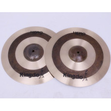 Leading Manufacturer for Manual Hi-Hat Cymbals B20  Hi-Hat  Cymbals For Drums export to Mauritius Factories