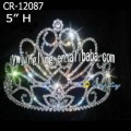 Rhinestone Cheap Pageant Crowns For Adult
