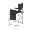 Aluminum Director's Folding Chair with cup holder