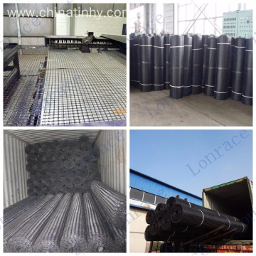 PP Biaxial Geogrid for Road Construction Project