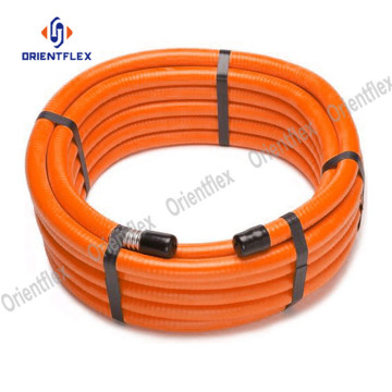 High pressure PVC air hose for transporting gas