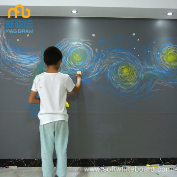 ປອກເປືອກແລະ Stick Child Room Writable Wall Paper