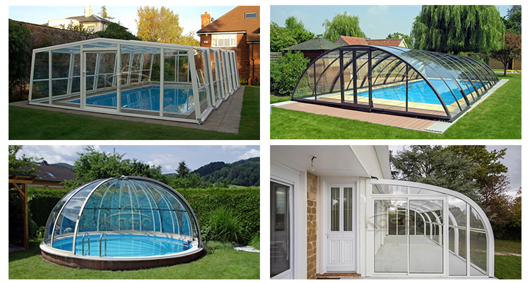 pool enclosure style