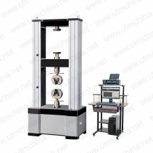 Wire rope testing machine
