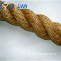 Twisted nature color jute rope