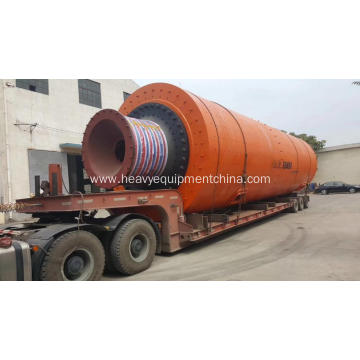 Portland cement ball mill for clinker grinding plant