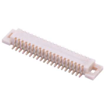 China Manufacturers for Board To Board Terminal Connectors 0.5mm BTB connector Male without locating pegs type export to Ghana Exporter