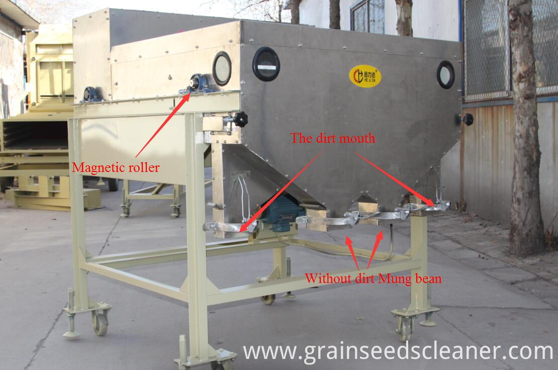 Grain Magnetic Separator
