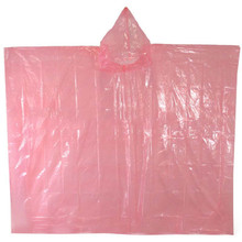 Adult Disposable Plastic Waterproof Poncho