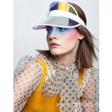 High quality Colorful sun visor plastic visor cap