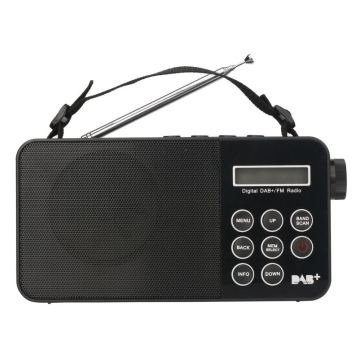 Pocket Radio DAB+FM Kids Alarm Clock Radio WIthink Usb Digital Audio player Radio
