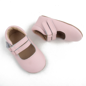 Infant Leather Baby Girl Mary Jane Toddler Shoes