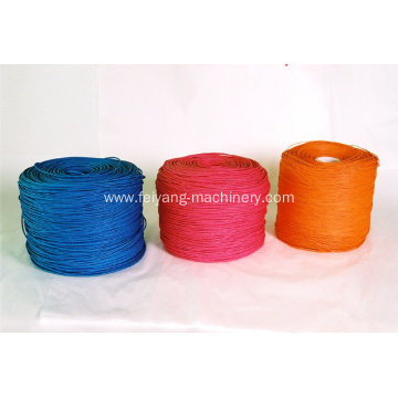 colorful twisted paper ropes