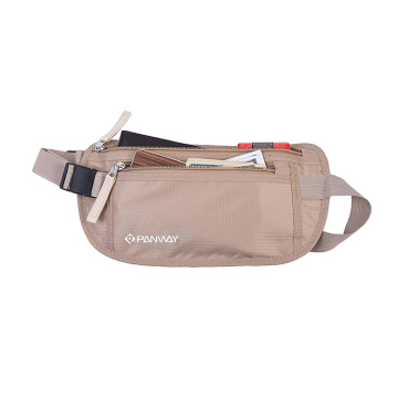 Custom Logo Lightweight  Promotional  Wholesale  600D/PU Polyester Waist Bag