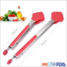 Christmas gift new Cake shape Silicone food tong