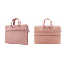 PU Leather Office Cross Laptop Executive Tote Bag