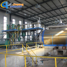 Hot sale reasonable price for Batch Waste Tyre Pyrolysis Plant Garbage Refinery to Oil Energy Plant supply to New Zealand Importers