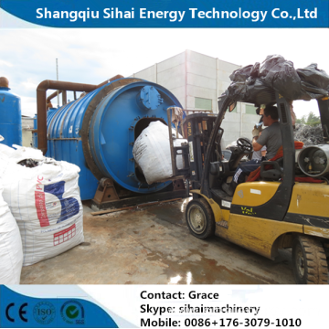 Scrap Plastic Pyrolysis Plant with CE and ISO