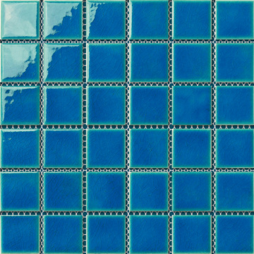 Dark Green Swimming Pool Porcelain Mosaic