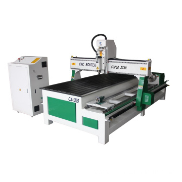 4 axis cnc machine with side rotary
