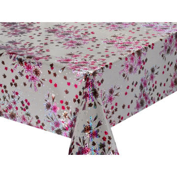 3D Laser Coating Tablecloth Oblong Uk