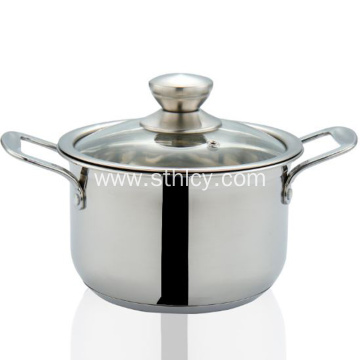 Thickened 304 Stainless Steel Small Steam Soup Pot
