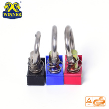 Aluminum Base Single Stud Fitting With SS O Ring