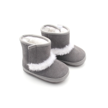 Winter Wholesale Plush Kids Baby Boots