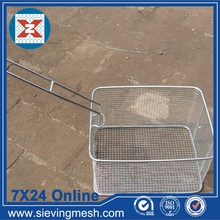 Goods high definition for for Metal Wire Baskets Metal Storage Basket with Handle supply to Angola Manufacturer