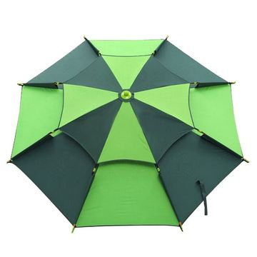 75cm-8k Double Layer Tent Camping Fishing Umbrella
