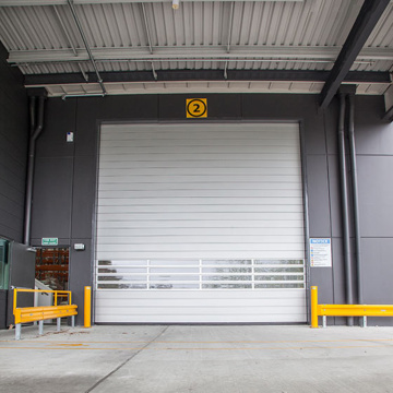 Turbine Hard High Speed ​​Shutter Door