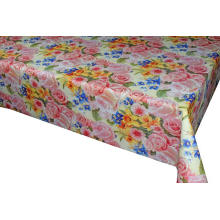 Elegant Tablecloth with Non woven backing  Flexible