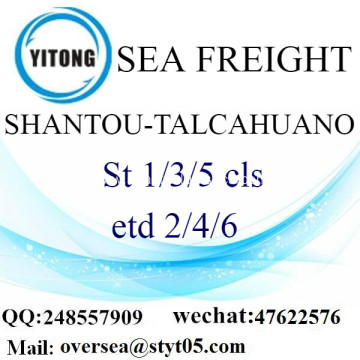 Shantou Port LCL Consolidation To Talcahuano