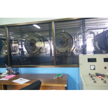 non-pullution waste tires pyrolysis machinery